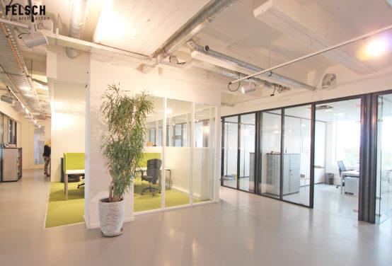Interieur kantoor AMS advocaten opgeleverd | FELSCH architecten